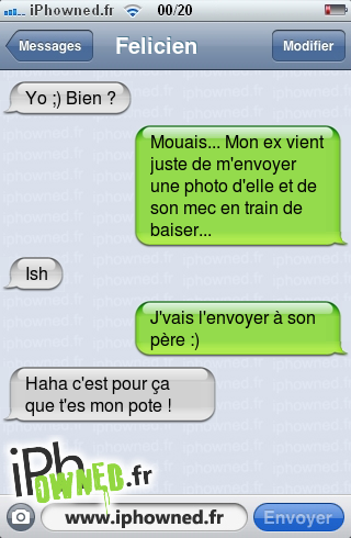 iphowned message sms drole texto rigolo blagues message sms mon ex essaye de me rendre jaloux. Black Bedroom Furniture Sets. Home Design Ideas