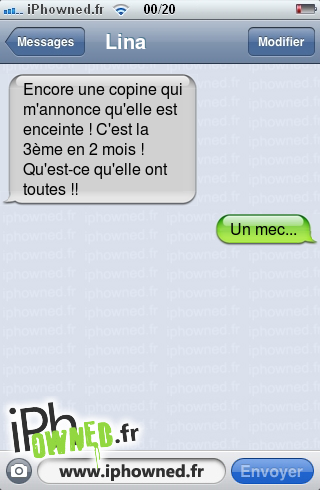 iphowned message sms drole texto rigolo blagues message sms comment on fait les b b s. Black Bedroom Furniture Sets. Home Design Ideas
