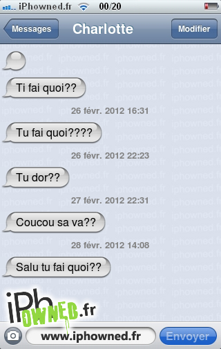 iphowned message sms drole texto rigolo blagues message sms sans commentaire. Black Bedroom Furniture Sets. Home Design Ideas