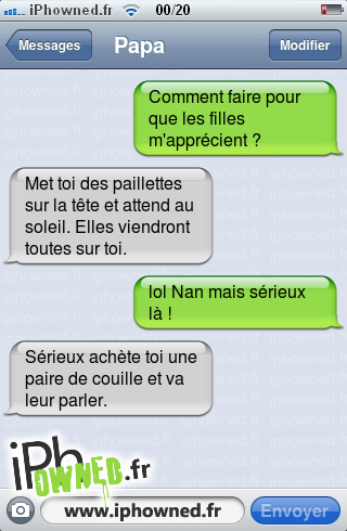 Iphowned Message Sms Drole Texto Rigolo Blagues Message