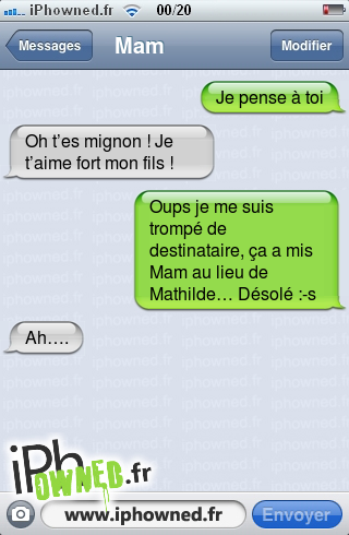iphowned message sms drole texto rigolo blagues message sms recherche de sms dr les sms. Black Bedroom Furniture Sets. Home Design Ideas